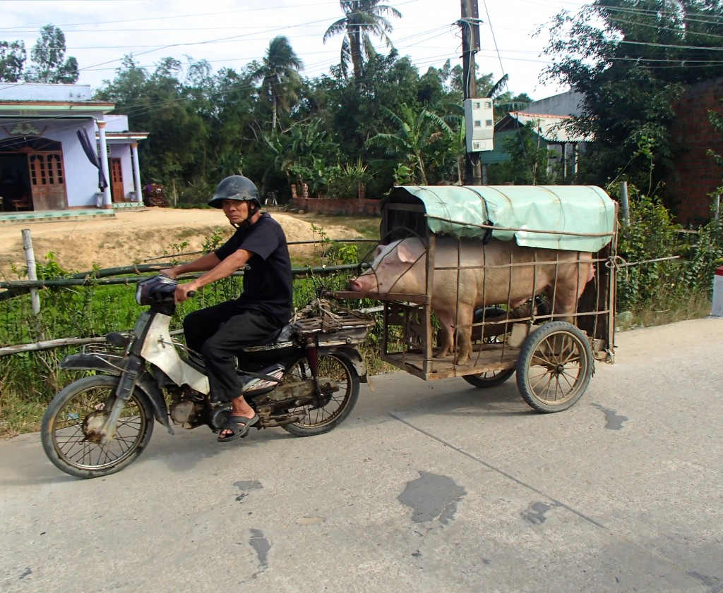 Transport in Zentralvietnam